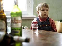Проблема алкоголизма у детей