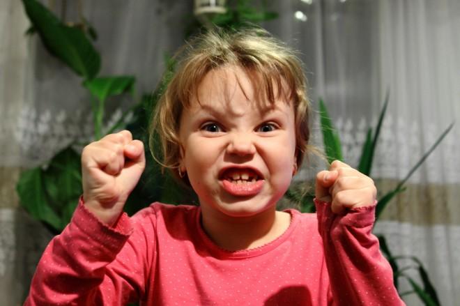 Хороший ребенок не злится