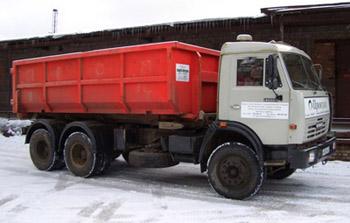 Вывоз строительного мусора контейнерами