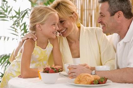 дружная семья, воспитание ребенка, воспитание детей