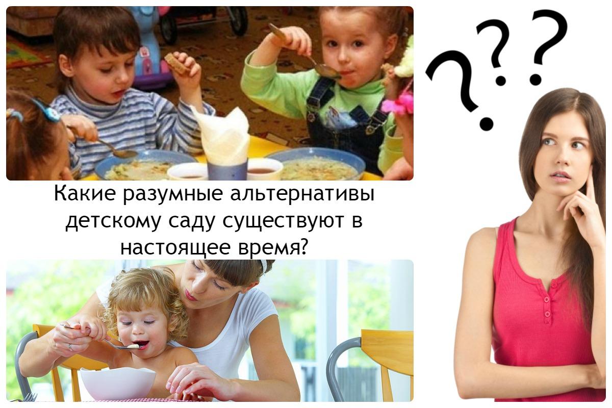 Альтернативы детскому саду