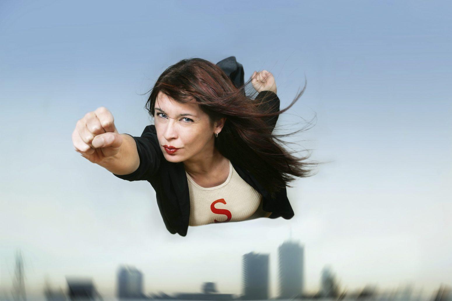 Мама-супергерой