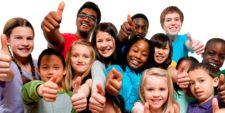 Дети разных национальностей и возрастов