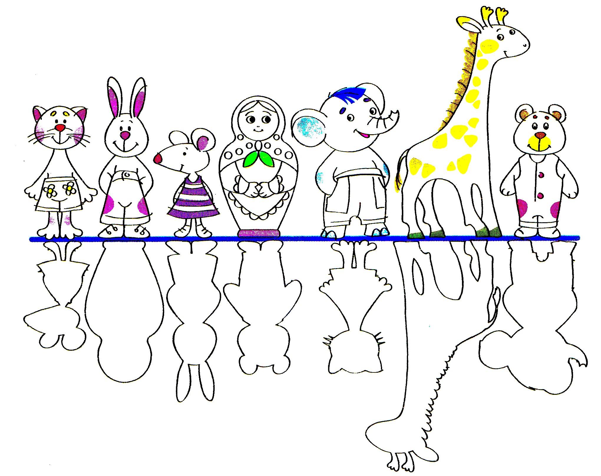 Головоломки для детей Танграм китайская головоломка