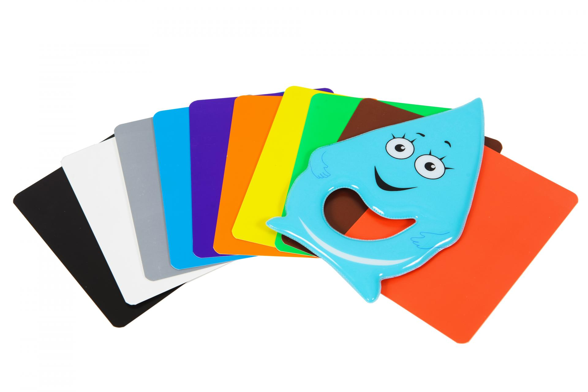 Цветные карточки