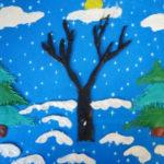 11. «Зимний лес»