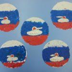 20. «Танк на фоне российского флага»