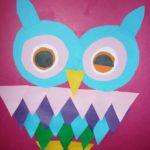 17. «Праздничный наряд для совы»