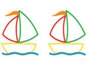 аппликация лодка