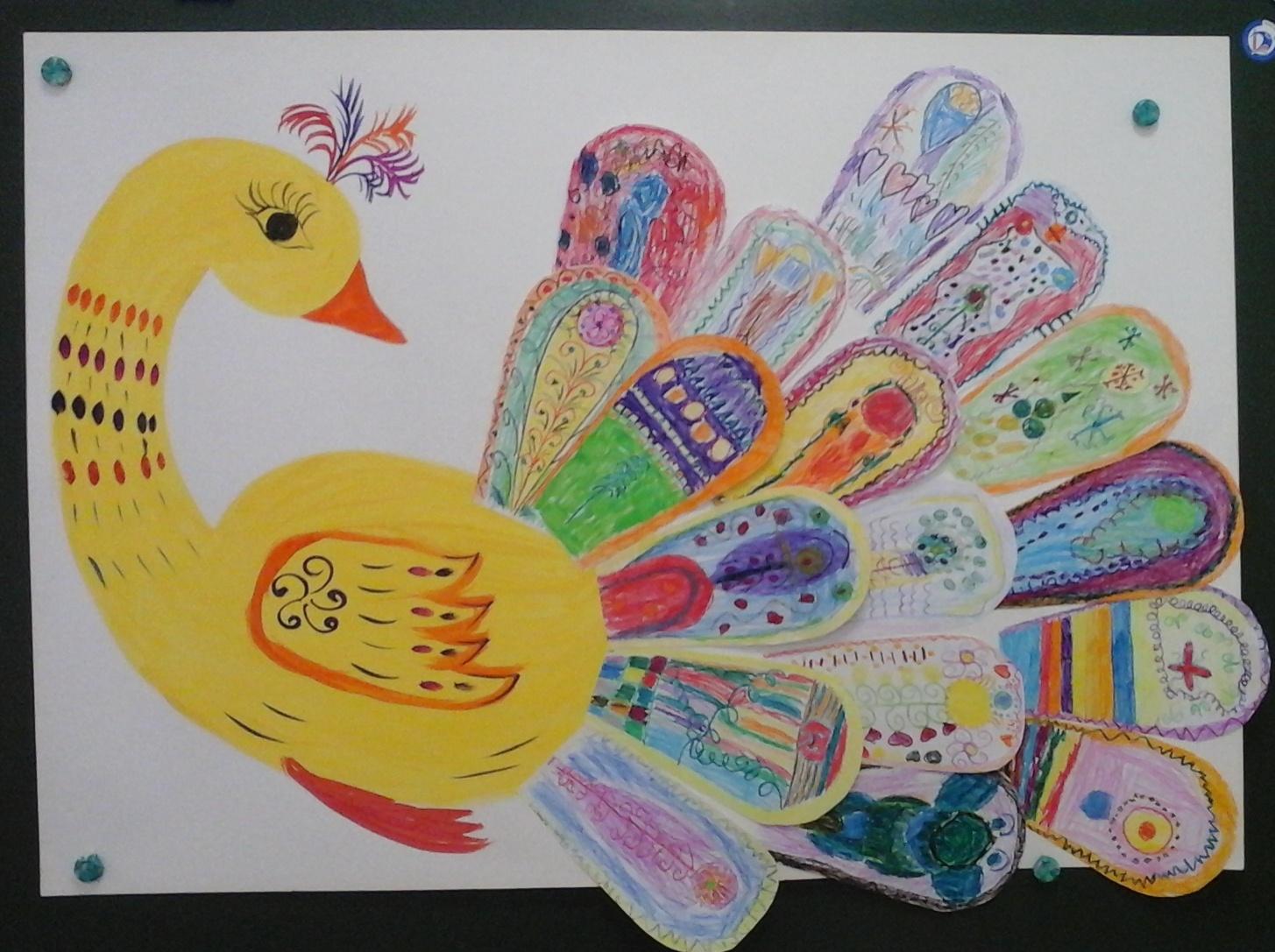 Аппликация в старшей группе на тему «Птицы»: специфика проведения и интересные варианты занятий