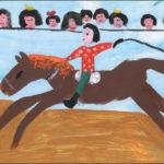 Цирковой конь