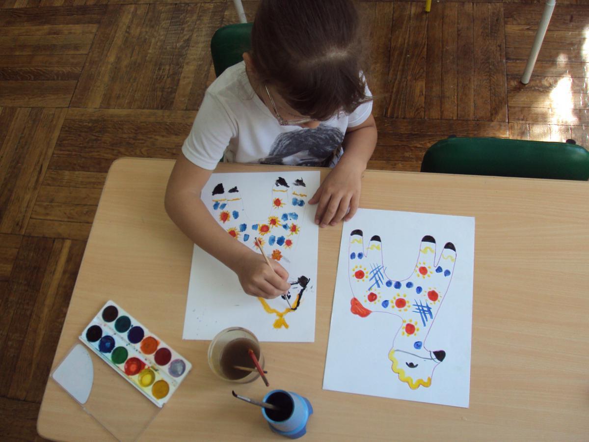 городецкая роспись детский сад