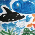 Кит и дельфин