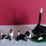 Котята идут за мамой