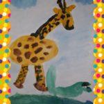 Красивый жираф