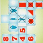 Логические кубики с цифрами