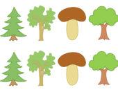 нарисованный гриб