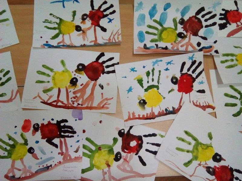 Конспект рисования в старшей группе нетрадиционные способы