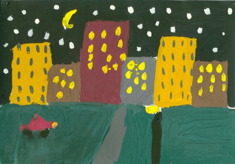 Рисование города в подготовительной группе: интерпретации темы и специфика проведения занятий