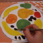 5. «Фрукты на тарелочке»
