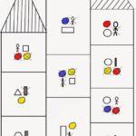Схема игры «Посели жителей в дом»