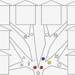 Схема игры «Найди домик»