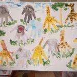 Слоны и жирафы