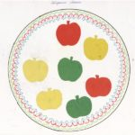 Яблочки на тарелочке