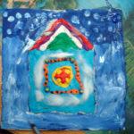 Домик для Деда Мороза