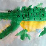 Изображение крокодила