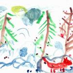Изображение лесных животных