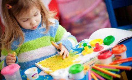 Рисующий ребёнок