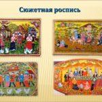 Виды городецкой росписи