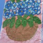 Голубая фиалка в подарок фее