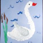 Изображение лебедя