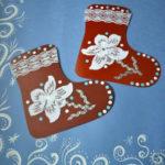 Аппликация по теме «Зимняя одежда»