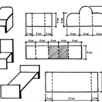 шаблон Мебель для куклы