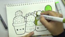 Рисование кактусов