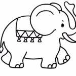 шаблон слона