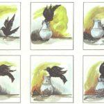 Ворона — стимульная карточка к методике Бернштейна