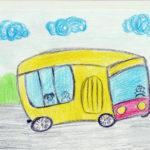 Рисунок «Школьный автобус»