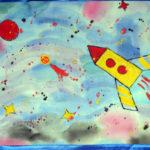 Батик «Ракета»