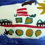 Рисунок «Пароход»