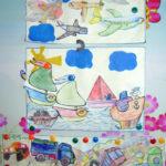 Коллективная работа «Виды транспорта»