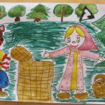 Рисунок Маша и Медведь