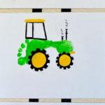 Оттиск ступни «Строительный и аграрный транспорт»