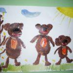 Рисунок Три медведя