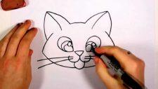 Кошка - один из первых анималистических образов, который обязательно захочет нарисовать ребёнок