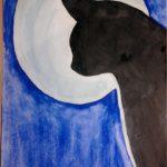 Лунная кошка