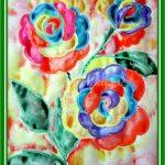 Радужные розы